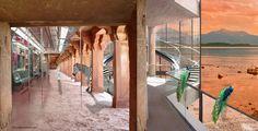 ARTvertisements.com, digital collage for the use of (empty) property, advertising, positive eye-catcher. Check http://www.facebook.com/artvertisements