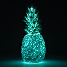 Goodnight Light Mint Green Pina Colada Lamp