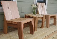 Outdoor 2X4 Furniture Plans | 2X4 Chair Plans http://woodworkerplansx.com/2x4-furniture-plans/