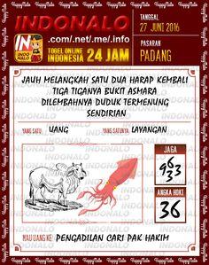 Prediksi Togel Online Live Draw 4D Indonalo Padang 27 Juni 2016