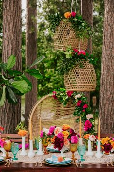 It's time to start planning a groovy, bohemian-inspired bridal shower for the bride-to-be! From bold colored florals to an array of textured décor, a retro boho theme is sure to give off happy. Summer Wedding Decorations, Bridal Shower Decorations, Summer Weddings, Wedding Summer, Aisle Decorations, Boho Wedding, Wedding Table, Wedding Ceremony, Wedding Beach