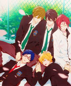 Sleepy boys <3 ~Free!