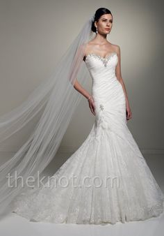 Check out this #weddingdress: Y21262 by Sophia Tolli via iPhone #TheKnotLB from #TheKnot
