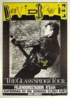 Bowie 1987 Rotterdam