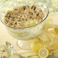 Lemon Bar Trifle Recipe from Taste of Home -- shared by Alyce McCrary of Leighton, Alabama