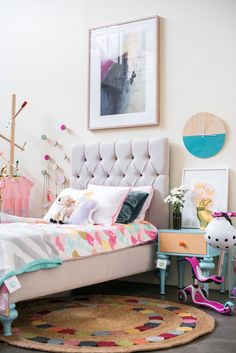 colorful eclectic kids room
