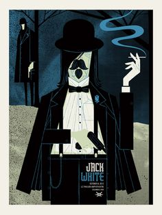 JACK WHITE -COLUMBUS OHIO « Limited Edition Gig Posters « Methane Studios