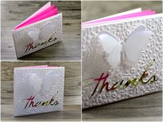 Crafting ideas from Sizzix UK: Thank You