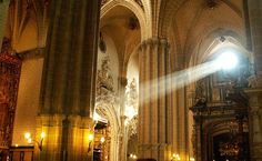 Interior de la catedral de La Seo