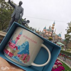 Starbucks mugs arrive at the Disneyland Resort, unique to Disneyland and Disney California Adventure.