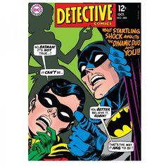 Quadro Batman e Robin Detective