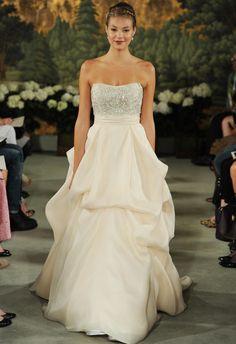 Anne Barge Spring 2015 wedding dress   MCV Photo   The Knot blog