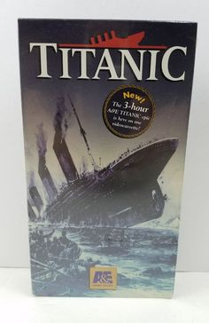 Titanic New VHS Movie A&E Home Video, Factory Sealed VCR Documentary 1994 | DVDs & Movies, VHS Tapes | eBay!