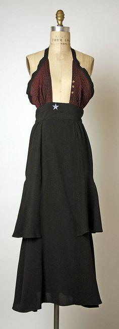 Ensemble (Jacket and Dress) Ossie Clark  (British, 1942–1996) Date: 1970–73 Culture: British Medium: synthetics