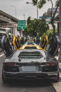 10 #Lamborghini #Aventadors or one #Veneno: same price. http://mostexpensivecartoday.com for more pictures and info.