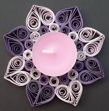 Image result for quilling suport lumanari