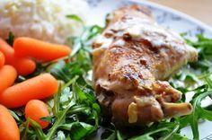 Taste me! Eat me!: Pieczony królik w sosie z białego wina Turkey, Meat, Food, Turkey Country, Essen, Meals, Yemek, Eten