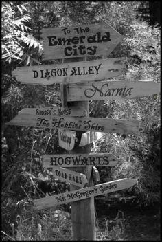 Fantasyland crossroads.