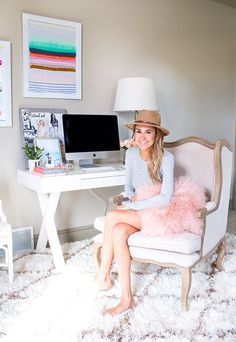 Home Office Makeover | Hello Fashion | Bloglovin'