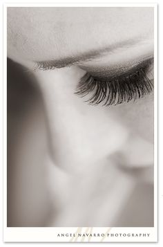 The only thing about me that I work the hardest on, freak out the most about, and will cry my eyes out if they were gone-is my eyelashes.