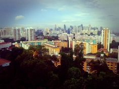 Mount Faber, Singapore... not sure if i'd really love to go here but its super clean!