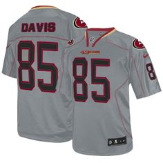 -80%OFF Nike Lights Out Vernon Davis Elite Jersey at 49ers Shop. ( · San  Francisco ... 26b374554