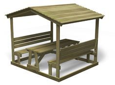 picnic shelter plans | PICNIC TABLE WITH ROOF « PICNIC TABLES