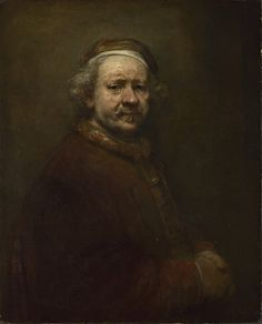 Rembrandt's Self Portrait at the Age of 63, 1669.