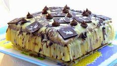 Torta Gelada de Limão e Chocolate