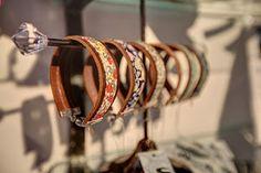 Wristart bracelets made by Helen Bell in Yorkshire