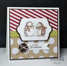 Stampin up Best of Snow Stamp Set.