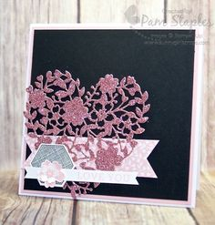 Finally… I have a sneak peek featuring the Bloomin Love Suite from the 2016 Stampin' Up! Occasions Catalog.  Yep, It's Wednesday and you know what that means… I&#039…