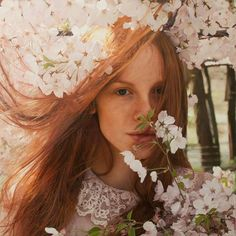 Luminous, brilliant, gorgeous. Oil on paper by Yigal Ozeri.