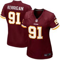 Women s Washington Redskins Ryan Kerrigan Nike Burgundy Game Jersey da64861fcd