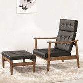 Found it at AllModern - Vod Lounge Chair and Ottoman Set $699