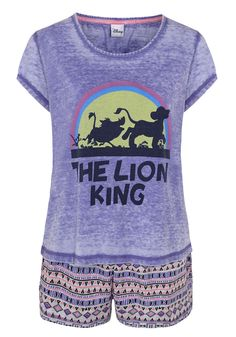 Clothing at Tesco | Disney Lion King Shorts Pyjamas > nightwear > Nightwear & Slippers > Women