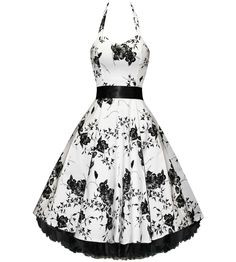 54 Best 50s Style Rockabilly Floral Dress
