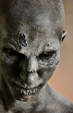 """sculpt prosthetic for character of Christopher Carrion for """"Abarat 3: Absolute Midnight"""" by Cris Alex, makeup artist"""
