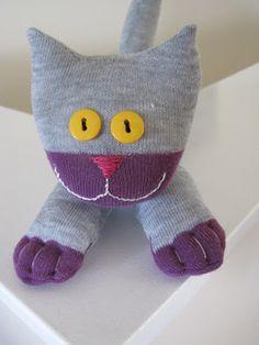 котик из носка-11
