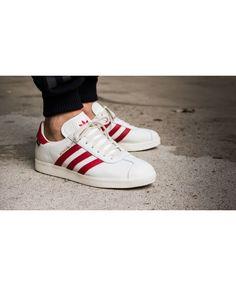 half off b0bb2 4865a Adidas Gazelle Moksva White Red S79981 Trainer