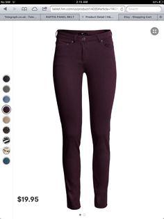 Skinny pants for skinny girls