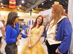 #KariVanHorn #ABC15 #Reporter #BeautyAndTheBeast #Belle #Disney #Comicon #Costume #Phoenix #Arizona