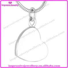 IJD9416 Heart Urn 316L Stainless Steel Cremation Pendant Hot Design Jewelry for Ash