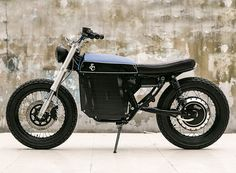 the street tracker custom motorcycle is a well-balanced electric bike that successfully combines retro design cues with strong battery performance.