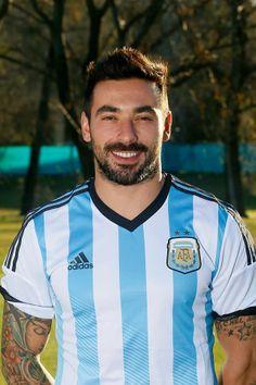Jugadores de la selección Argentina Mundial Brasil 2014 - Ezequiel Lavezzi