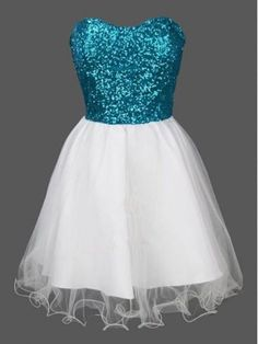 sequins prom dresses,White A-line Sweetheart Short Mini Tulle