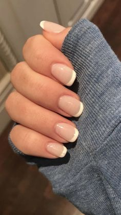 40 great manicure ideas for short nails 2019 - short gel nail arts - # for . - 40 great manicure ideas for short nails 2019 – short gel nail arts – # Ma - Classic French Manicure, French Manicure Designs, Classic Nails, Nails Design, Nail French, Pedicure Designs, Short Nail Designs, Manicure Y Pedicure, Manicure Ideas