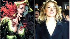 Amber Heard the call to join Jason Momoa in Aquaman and Justice...: Amber Heard the call to join Jason Momoa in Aquaman and… #AmberHeard