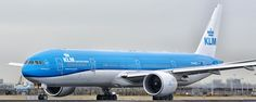 PH BVR KLM Royal Dutch Airlines Boeing (ER) cn - PH-BVR KLM Royal Dutch Airlines Boeing 777-306(ER) AMS Schiphol international airport Holland 04-02-2017