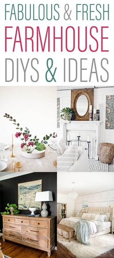 Fabulous and Fresh Farmhouse DIYS and Ideas. Come and see what has been going on in the wonderful world of Farmhouse DIYS & Ideas and of course Farmhouse Home Decor. Get the scoop all in one place! Industrial Interior Design, Vintage Industrial Decor, Industrial Interiors, Rustic Decor, Fresh Farmhouse, Farmhouse Style, Farmhouse Decor, Cottage Farmhouse, Cottage Style
